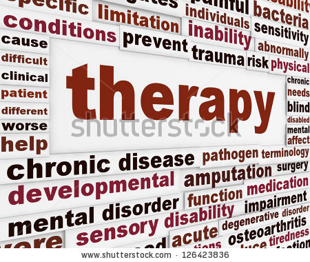 physical therapy words
