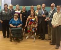 Members of Kentucky Life Sciences Council, Spina Bifida Association of Kentucky, Kentucky & Southern Indiana Stroke Association and Congressman Brett Guthrie